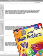 The Number System Leveled Problems: Factors or Multiples?