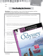 The Odyssey Close Reading and Text-Dependent Questions (Gr