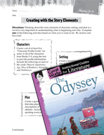 The Odyssey Studying the Story Elements (Great Works Series)