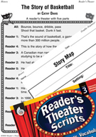 The Story of Basketball Reader's Theater Script and Lesson