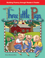 The Three Little Pigs - Reader's Theater Script and Fluenc