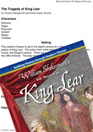The Tragedy of King Lear - Reader's Theater Script and Flu