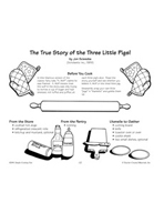 The True Story of the Three Little Pigs! - Pigs in a Blank