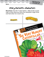 The Very Hungry Caterpillar Studying the Story Elements (G