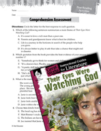Their Eyes Were Watching God Comprehension Assessment (Gre
