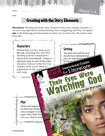 Their Eyes Were Watching God Studying the Story Elements (