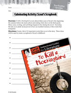 To Kill a Mockingbird Post-Reading Activities (Great Works