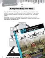Tuck Everlasting Making Cross-Curricular Connections (Grea