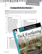 Tuck Everlasting Studying the Story Elements (Great Works Series)