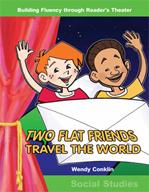 Two Flat Friends Travel the World - Reader's Theater Scrip