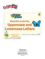 Uppercase and Lowercase Letters - Butterflies in the Sky L