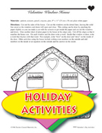 Valentine's Day Activities - Mystery Picture Directions an