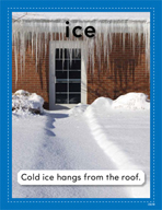 Vocabulary Concept Cards - Ice and Snow