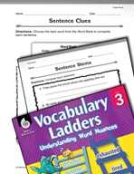 Vocabulary Ladder for Cleanliness