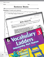 Vocabulary Ladder for Degree of Certainty