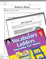 Vocabulary Ladder for Intelligence
