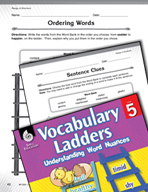 Vocabulary Ladder for Range of Emotion