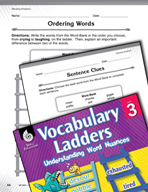 Vocabulary Ladder for Showing Emotions