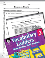 Vocabulary Ladder for Size