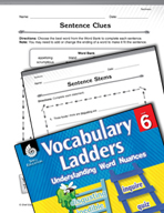 Vocabulary Ladder for Tastiness