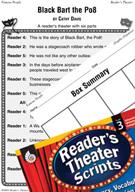 Western Movement-Black Bart the Po8 Reader's Theater Scrip
