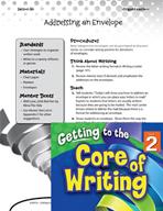 Writing Lesson Level 2 - Addressing an Envelope