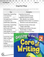 Writing Lesson Level 2 - Capital Letter Rap