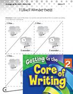 Writing Lesson Level 2 - Sharing Writing