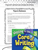 Writing Lesson Level 3 - Building Fluent Sentences