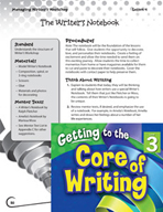Writing Lesson Level 3 - The Writer's Notebook