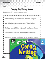 Writing Lesson Level 4 - The Color of CUPS