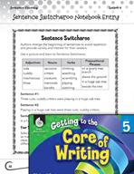 Writing Lesson Level 5 - Sentence Beginnings Switcharoo