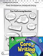 Writing Lesson Level 5 - Teacher and Peer Conferences