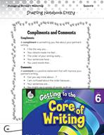 Writing Lesson Level 6 - Sharing Writing