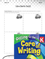 Writing Lesson Level K - My Idea Bank