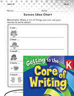 Writing Lesson Level K - Things All Around Us