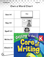 Writing Lesson Level K - Using High Frequency Words