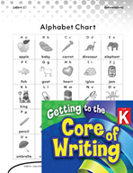Writing Lesson Level K - Using the Alphabet Chart
