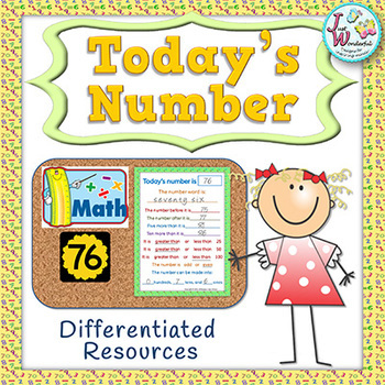 Number of the Day - Number Sense - Activities and Worksheets