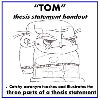 """Thesis Statement Handout """"TOM"""""""
