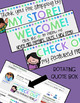 TPT Animated Quote Box & Banners {COOL COLORS}