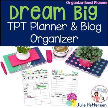 TPT Planner and Blog Organizer