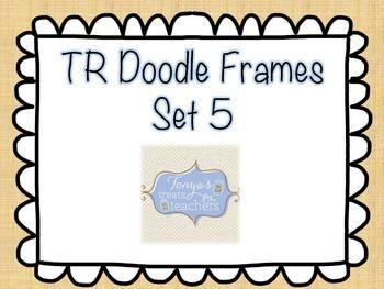 TR Doodle Frames Set 5