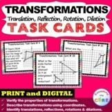 TRANSFORMATIONS Translate, Reflect, Rotate, Dilate - Task