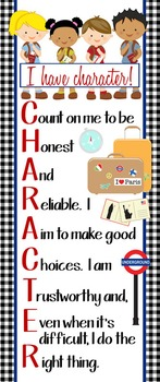 TRAVEL - Classroom Decor: LARGE BANNER, CHARACTER
