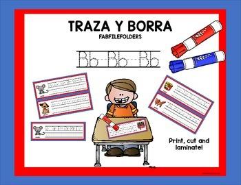 TRAZA Y BORRA