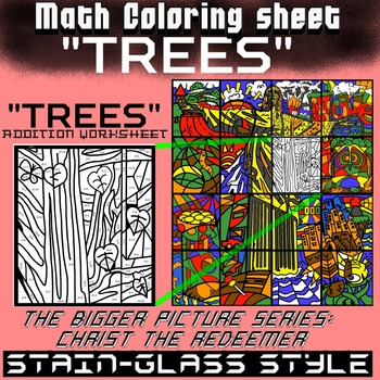 Trees, Math addition - Bigger picture series (Redeemer)