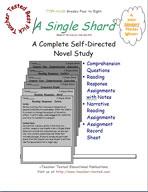 A Single Shard Novel Study Guide