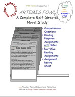 Artemis Fowl Novel Study Guide
