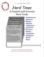 Hard Times Novel Study Guide